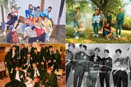 Bullet-proof Boy band EXO, Warner, Gasseven, Billboard social 50 Chart Top 10 simultaneously