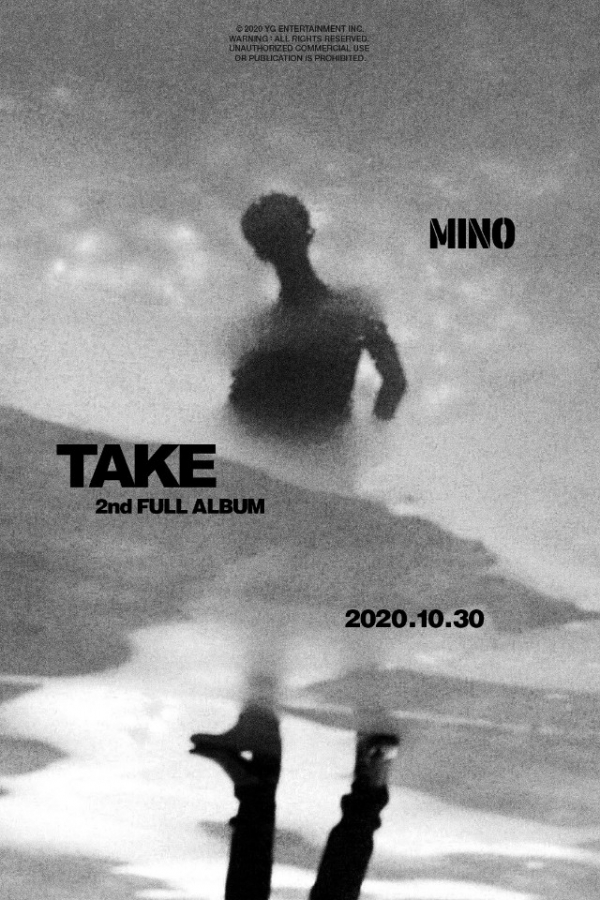 사진= MINO 2nd FULL ALBUM 'TAKE' RELEASE POSTER / YG 공식 SNS